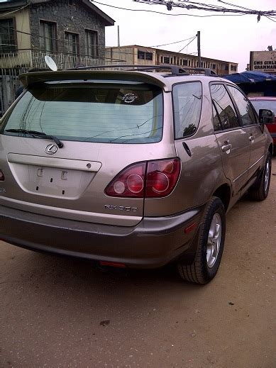 toyota lexus 2002 model lagos clear toyota lexus jeep 2002 model for sale autos