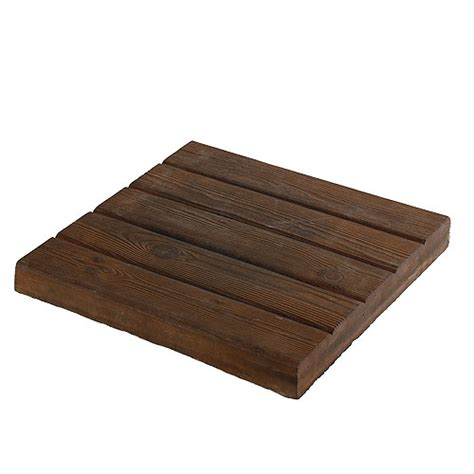 Dalle Pour Patio by Dalle 224 Patio Rustica 15 Quot X 15 Quot Brun Rona