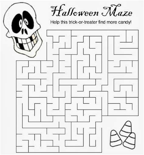 printable halloween maze difficult halloween word search
