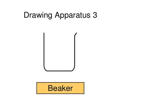 diagram of beaker scientific drawings