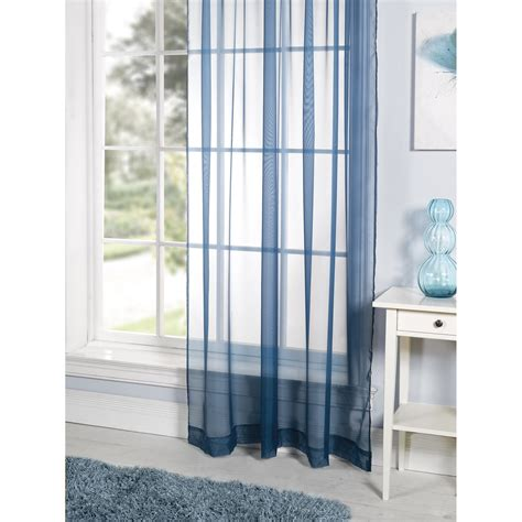 coloured voile curtains lucy plain coloured ready made voile living room panel