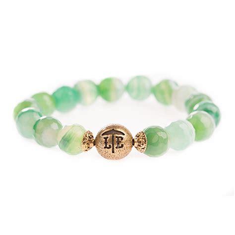 jade beaded bracelet lenny