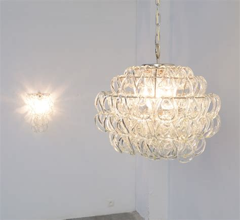 giogali chandelier giogali chandelier by angelo mangiarotti for vistosi for