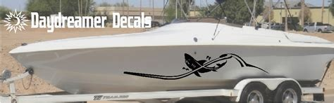 boat graphics shark unique vinyl boat graphics by daydreamer decals