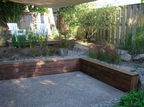 wood retaining wall ideas makipera com