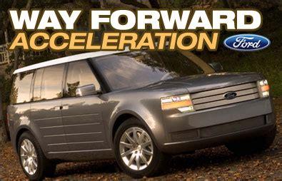 auto forwarding program ford way forward program