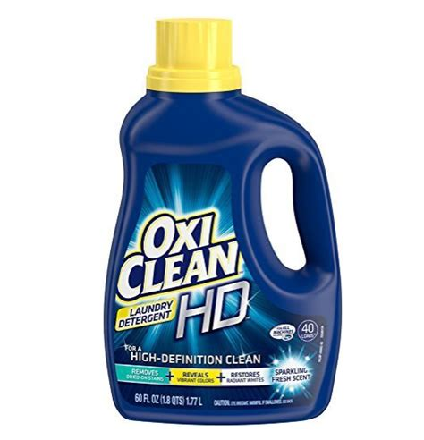 Oxiclean Upholstery Cleaner by Oxiclean Hd Laundry Detergent Sparkling Fresh 60 Oz Only