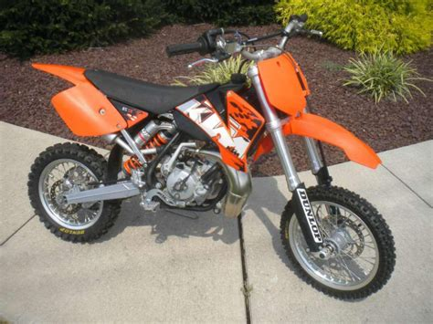 Ktm Sx 65 For Sale 2008 Ktm 65 Sx Mini Pocket For Sale On 2040 Motos