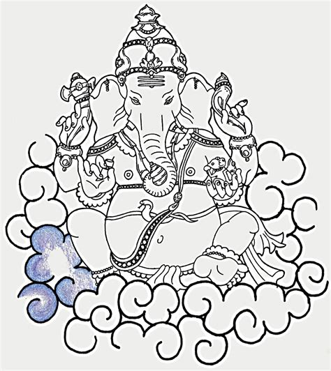 tattoo fonts ganesh ganesha by xenatheconqueror on deviantart tattoomagz