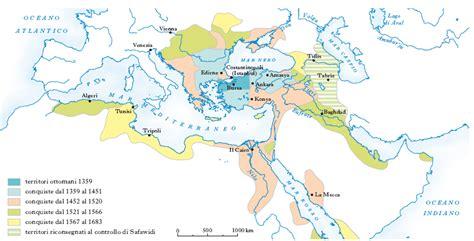 impero ottomano cartina ottomano impero nell enciclopedia treccani
