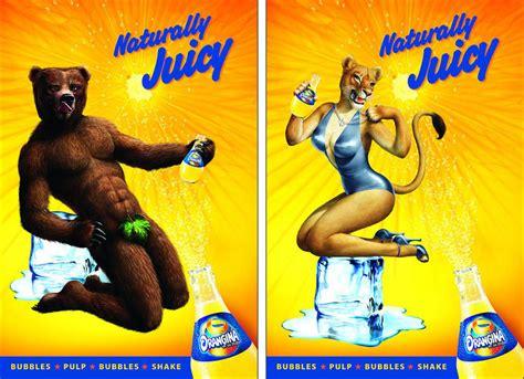 Sex Appeal Meme - hyper sexual orangina ad features animal orgy lap dances