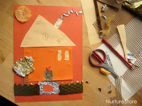 Things To Make With Paper And Glue - things to do with glue simple play nurturestore
