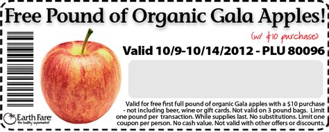 free printable grocery coupons for mac computers earth fare coupons free organic gala apples