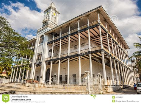 House Of Wonders In Stone Town, Zanzibar, Tanzania