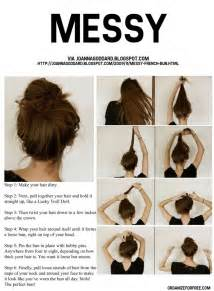 how to do a bun hair