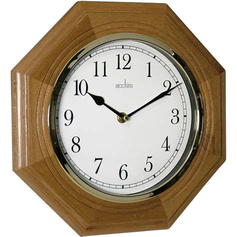 wooden wall clock richmond wooden wall clock 29cm
