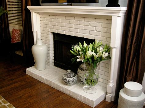 White Brick Fireplace Decorating Ideas by White Brick Fireplace Decorating Ideas