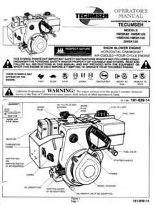tecumseh hmsk80 hmsk100 hmsk90 hmsk105 ohsk120 engine