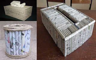 cara membuat kerajinan wayang dari koran kreasi kerajinan tangan membuat kotak tisu dari kardus dan