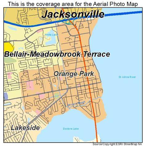 orange map aerial photography map of orange park fl florida