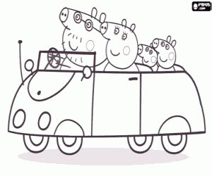 peppa pig car coloring pages peppa pig coloring pages printable games 2