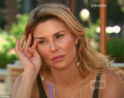 real housewives brandi glanville openly shows disdain for ex real housewives brandi glanville openly shows disdain for