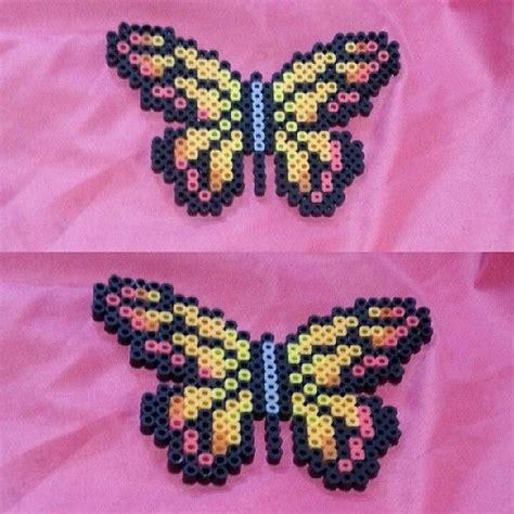 perler butterfly butterfly perler by tryginal perler