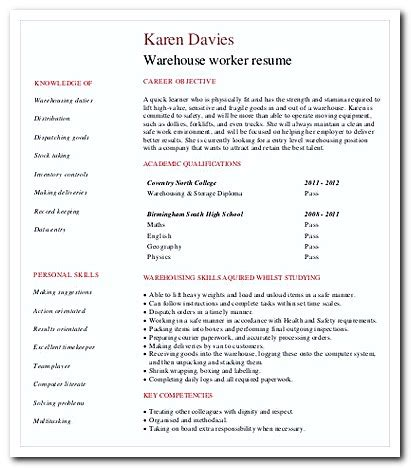 Temporary Worker Cover Letter by Writing Warehouse Worker Cover Letter For Your Application Resume