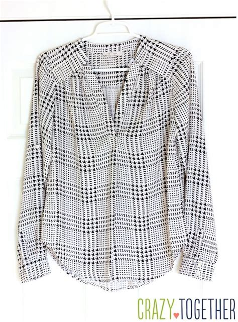 Blouse Houndstooth stitch fix 16 review and giveaway sleeve blouses stylists and blouses