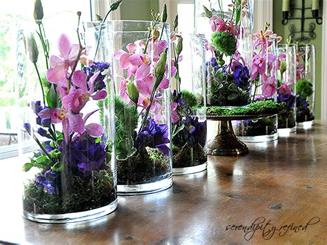 and centerpieces serendipity refined centerpieces for s