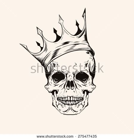 skull with crown tattoo designs skull and crown stock images royalty free images