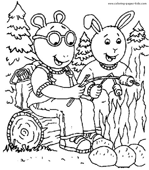 arthur coloring pages arthur color page color pages printable