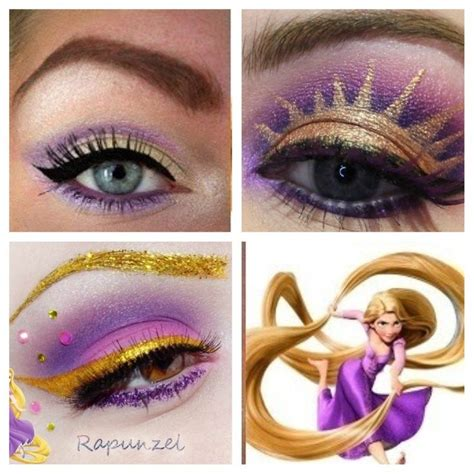 Shoo Nature Oriflame disney princess makeup tutorial rapunzel mugeek vidalondon