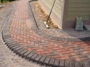Brick Paver Designs Brick Paver Walkway Landscape Other Metro