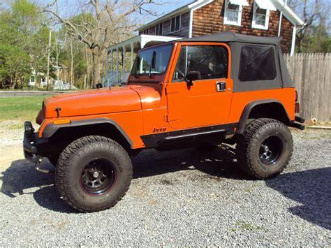 orange jeep burnt orange jeep yj