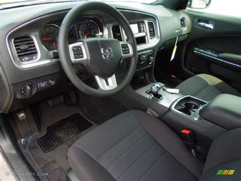 Black Charger With Interior by Black Interior 2012 Dodge Charger Se Photo 63439775