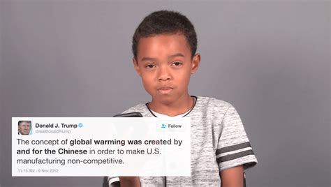 donald trump climate change little kids read donald trump s tweets on global warming