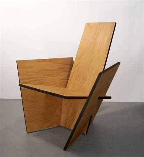 Diy Wood Chair by Home Made Chairs Are Diy And Accessible Treehugger