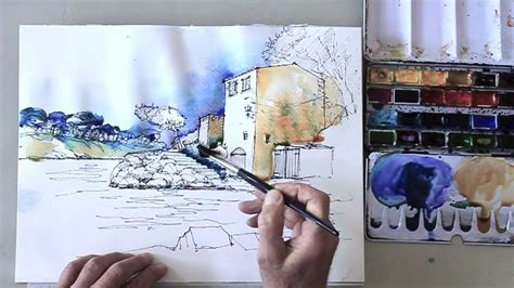 sketchbook how to colors how to draw a landscape step by step and color the sketch