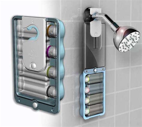travel shower caddy jim hofman design