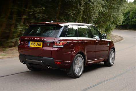 land rover maroon new range rover sport 2015 review pictures auto express