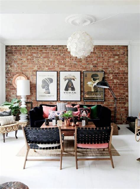 how to hang on exposed brick walls