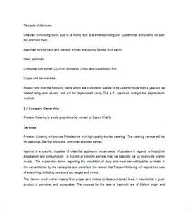 free business plan template catering company 9 catering business plan templates free sle exle