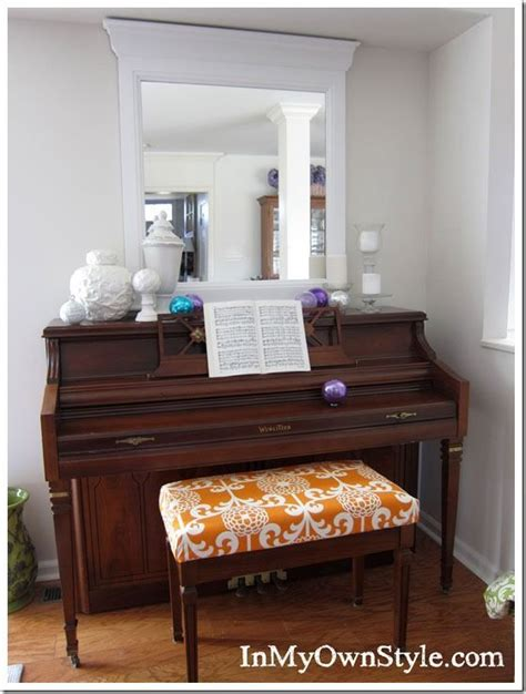 how to make a piano bench cushion how to make a no sew fabric covered cushion wooden chest