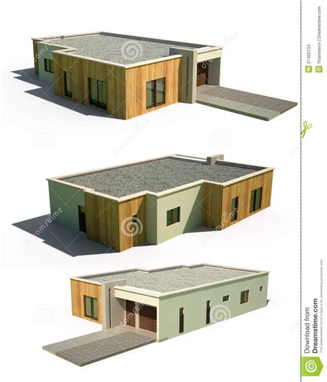 3d Exterior Home Design App 3d modern house facade exterior stock images image 27402134