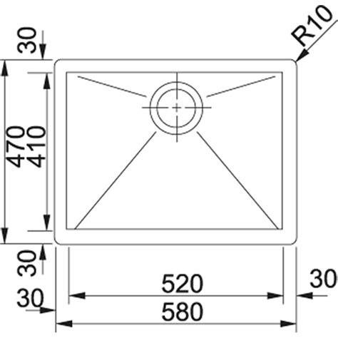 lavello franke planar franke 127 0198 245 lavello inox satinato planar ppx 210