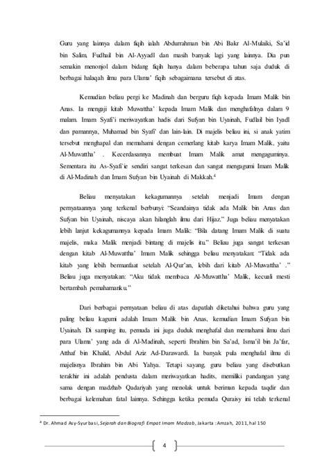 biografi hamka dan pemikirannya biografi dan pemikiran imam syafi i dan hambali