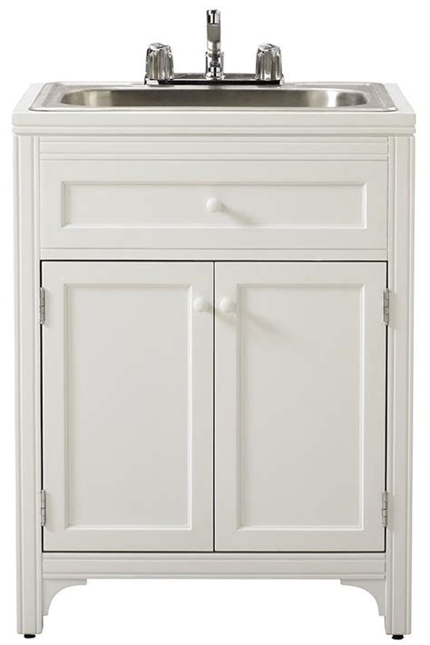 24 Inch Bathroom Vanity Cabinet by Laundry Room Sink With Cabinet Neiltortorella Com