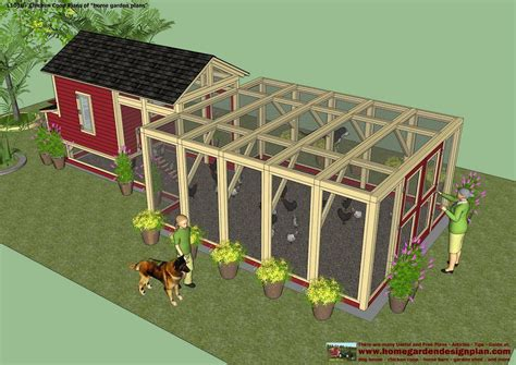 Home Garden Plans Chicken Coops Chicken House Blueprints Free