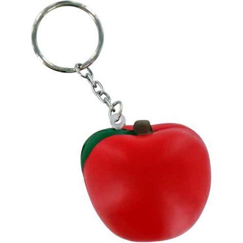 apple keychain apple key chain stress ball custom stress balls 0 76 ea